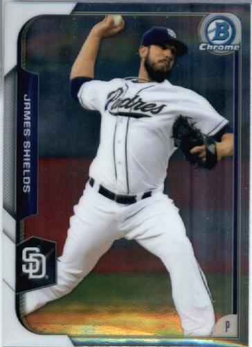 Photo of 2015 Bowman Chrome #13 James Shields
