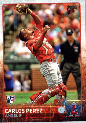 Photo of 2015 Topps Update #US48 Carlos Perez RC