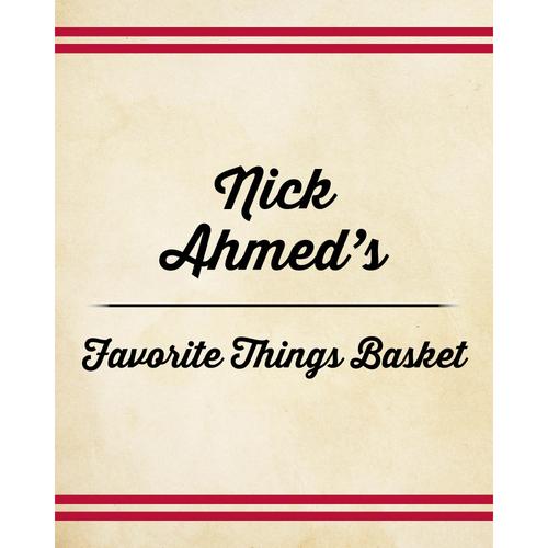 Photo of Nick Ahmed's Favorite Things Basket