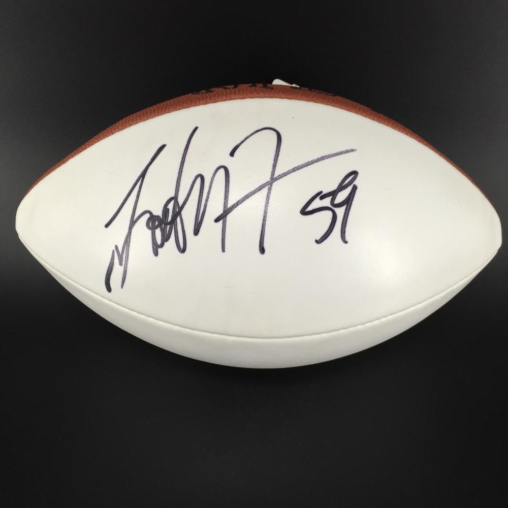 Redskins - London Fletcher Signed Panel Ball