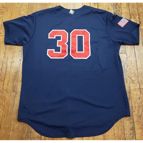 Photo of 2017 World Baseball Classic Game Used Jersey - David Robertson - Size XL (USA)