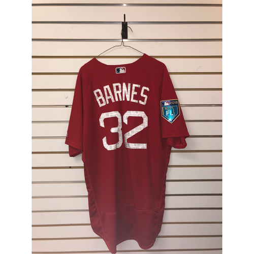 Photo of Matt Barnes Team-Issued 2018 Spring Training Jersey