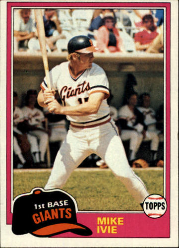 Photo of 1981 Topps #236 Mike Ivie