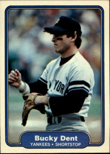 Photo of 1982 Fleer #33 Bucky Dent