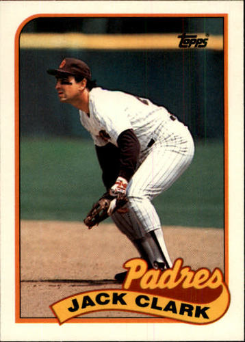 Photo of 1989 Topps Traded #20T Jack Clark