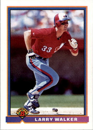 Photo of 1991 Bowman #442 Larry Walker