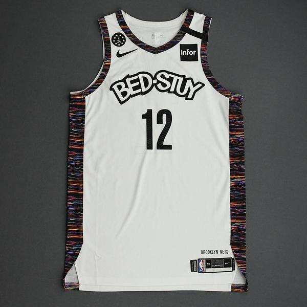 Image of Joe Harris - Brooklyn Nets - 2020 MTN DEW 3-Point Contest - Event-Worn City Edition Jersey