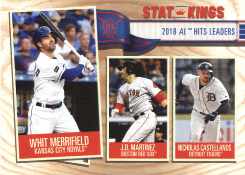 Photo of 2019 Topps Big League #349 Nicholas Castellanos/J.D. Martinez/Whit Merrifield