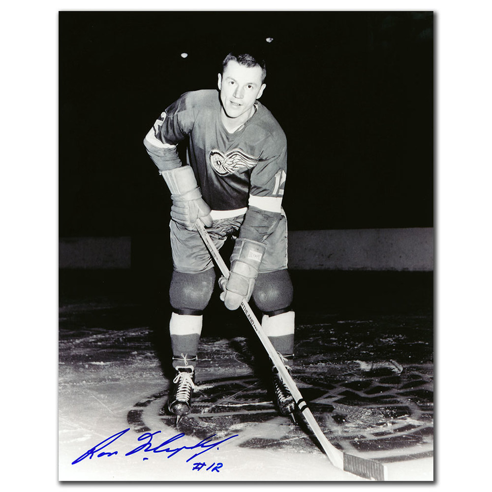 Ron Murphy Detroit Red Wings Autographed 8x10 Photo