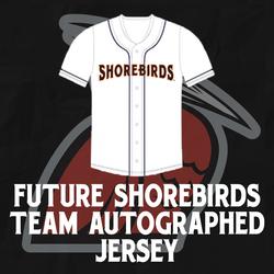 Photo of Future Shorebirds Team Autographed Jersey