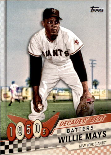 Photo of 2020 Topps Decades' Best #DB17 Willie Mays