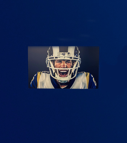 Photo of Cooper Kupp 40x24 Metal Canvas