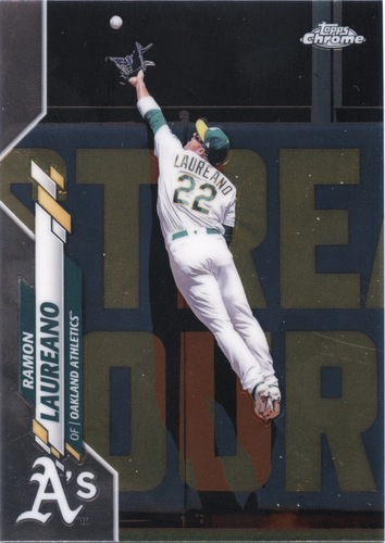 Photo of 2020 Topps Chrome #160 Ramon Laureano