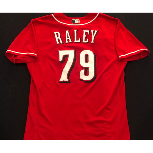 Photo of Brooks Raley -- 2020 Spring Training Jersey -- Team-Issued -- Size 46