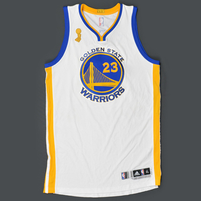 Draymond Green - Golden State Warriors - Game-Worn Jersey w NBA Trophy Patch 76f498e06