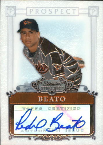 Photo of 2006 Bowman Sterling Prospects #PB Pedro Beato AU A