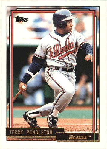 Photo of 1992 Topps Gold #115 Terry Pendleton