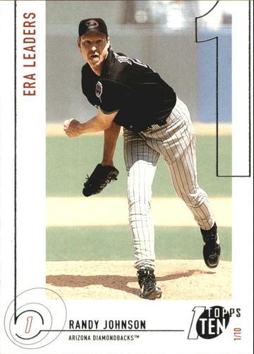 Photo of 2002 Topps Ten #141 Randy Johnson ERA