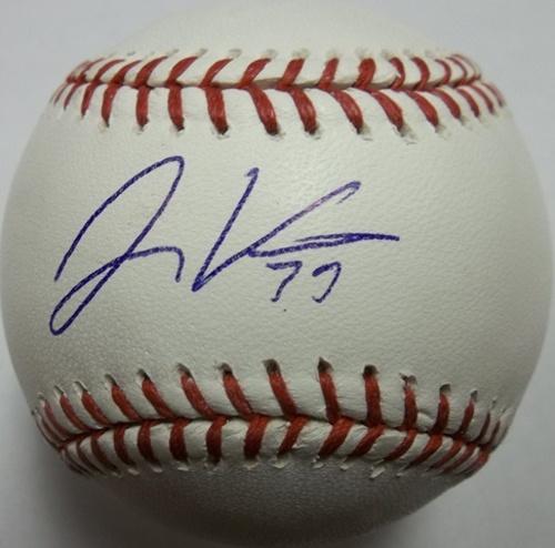Photo of Jonny Venters Autographed Baseball