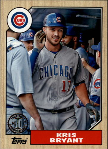 Photo of 2017 Topps '87 Topps #875 Kris Bryant