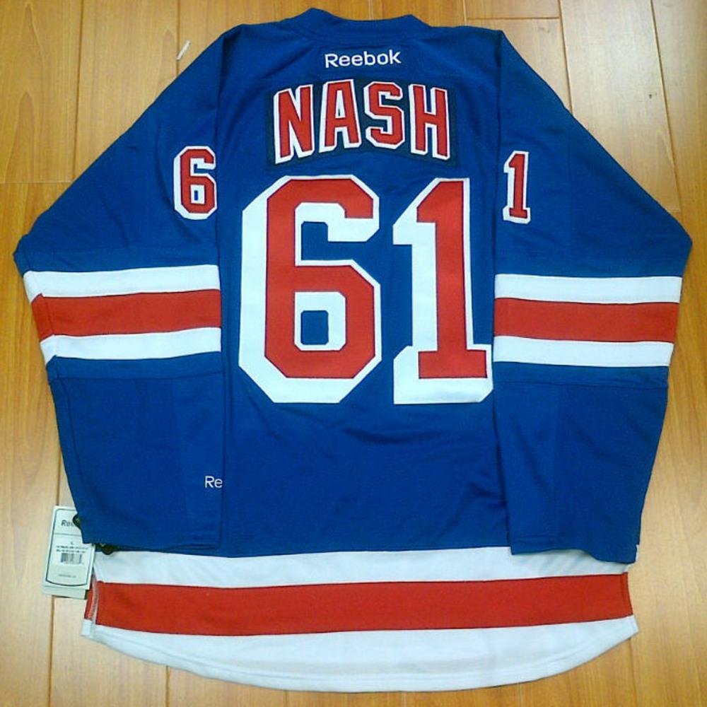 RICK NASH New York Rangers Hockey Jersey *Size XL*