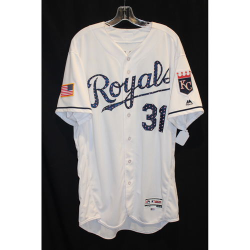 Game-Used Jersey: Ian Kennedy (Size 48 - MIN at KC - 7/1/17)