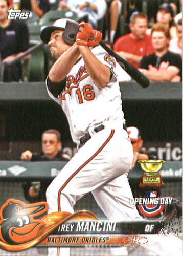 Photo of 2018 Topps Opening Day #18 Trey Mancini