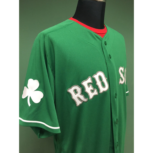 b3e234471 St. Patrick's Day Jersey Auction - Dwight Evans Team-Issued & Autographed  Jersey