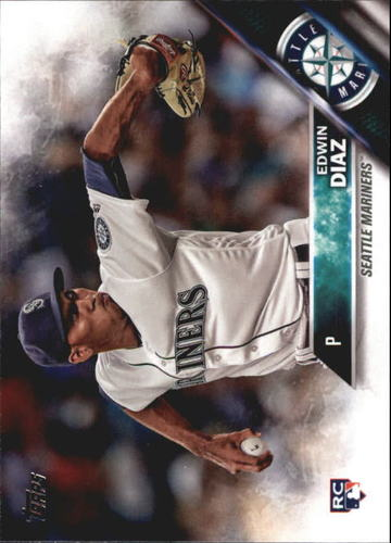 Photo of 2016 Topps Update #US214 Edwin Diaz  Rookie Card