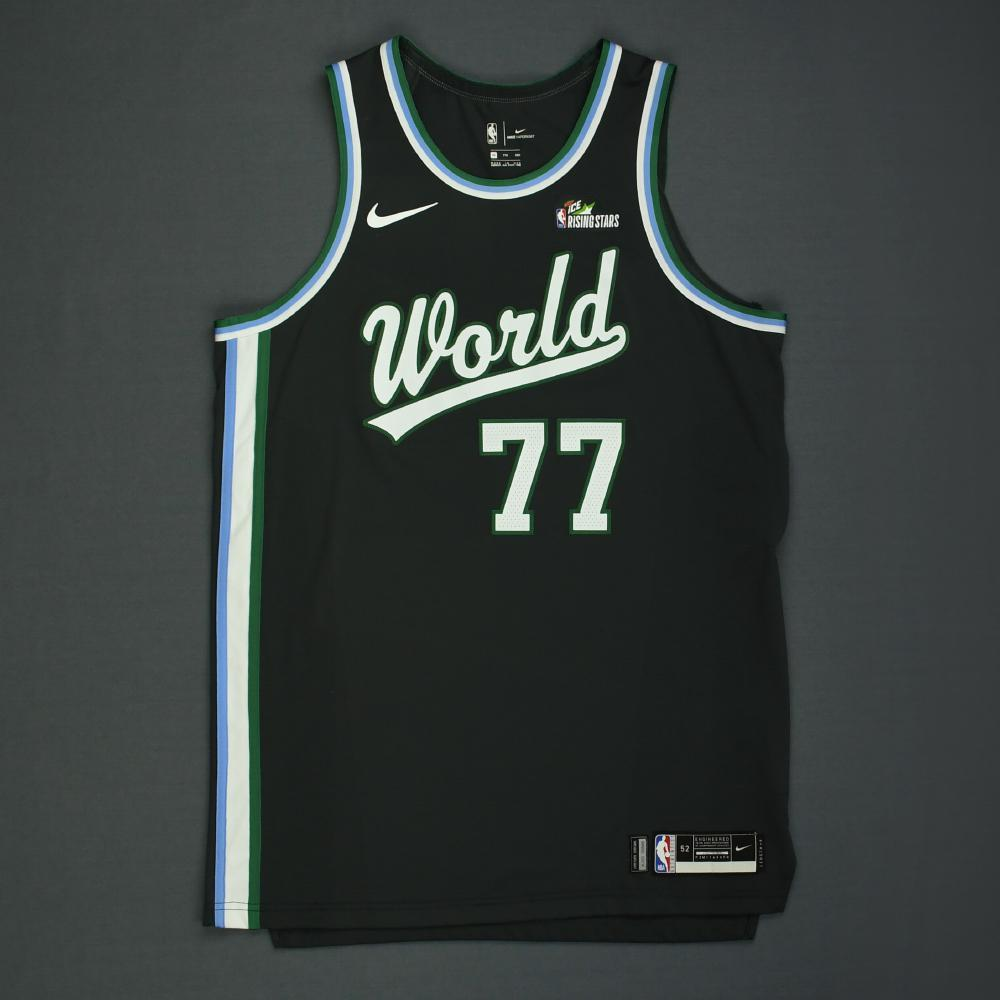 reputable site 83486 c4273 Luka Doncic - 2019 MTN DEW ICE Rising Stars - Team World ...