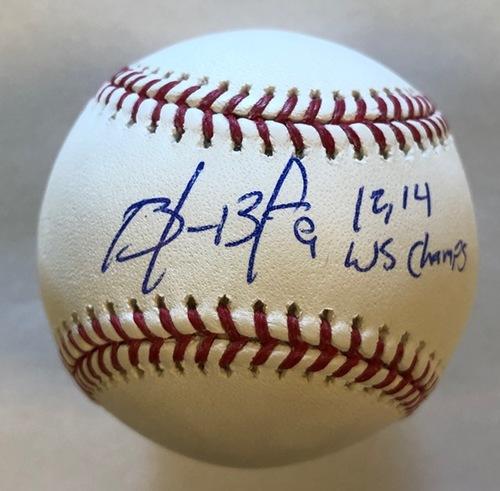 Brandon Belt Autographed