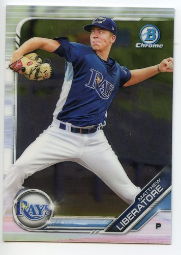 Photo of 2019 Bowman Chrome Prospects #BCP112 Matthew Liberatore