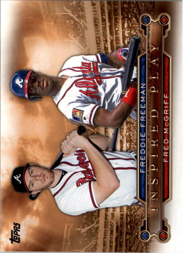 Photo of 2015 Topps Inspired Play #I10 Fred McGriff/Freddie Freeman