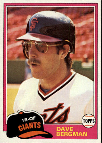 Photo of 1981 Topps Traded #734 Dave Bergman