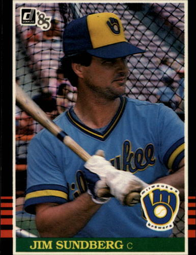 Photo of 1985 Donruss #89 Jim Sundberg