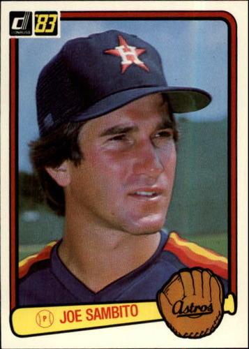 Photo of 1983 Donruss #244 Joe Sambito