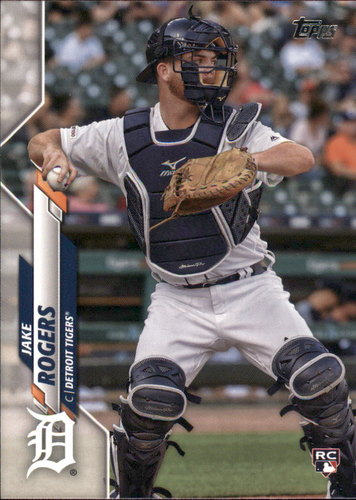 Photo of 2020 Topps #147 Jake Rogers RC