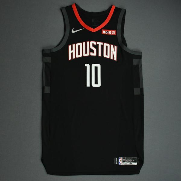 Image of Eric Gordon - Houston Rockets - Game-Worn Statement Edition Jersey - NBA Japan Games - 2019-20 NBA Season