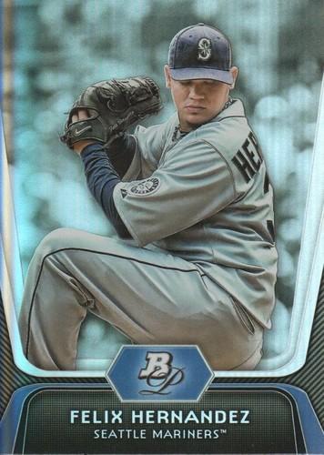 Photo of 2012 Bowman Platinum #85 Felix Hernandez