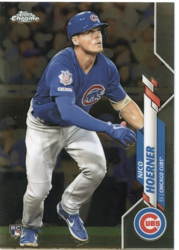 Photo of 2020 Topps Chrome #161 Nico Hoerner RC