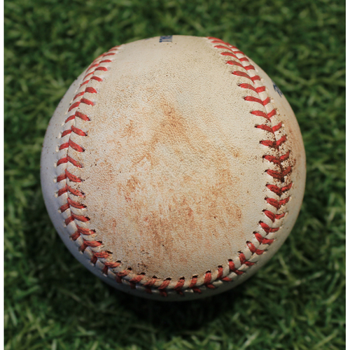Photo of Game-Used Baseball: Francisco Lindor 875th Career Hit (CLE @ KC 9/1/20)