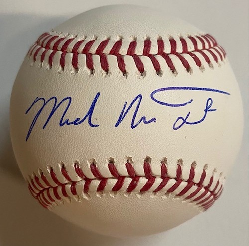 Photo of Michael Nelson Trout Autographed Baseball - Full Name
