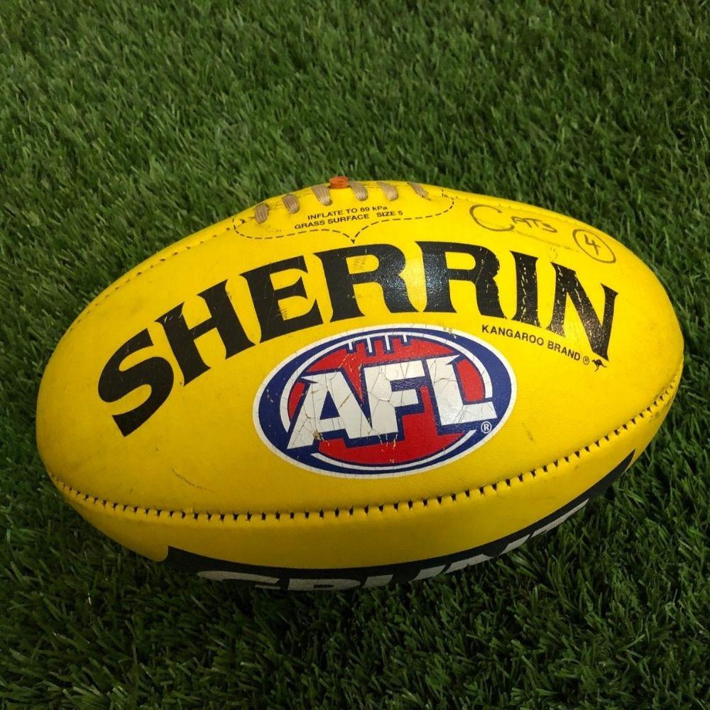 Carlton 2021 Round 17 Match Used Ball - #4