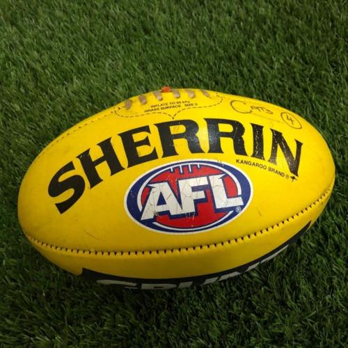 Photo of Carlton 2021 Round 17 Match Used Ball - #4