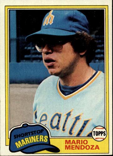 Photo of 1981 Topps #76 Mario Mendoza