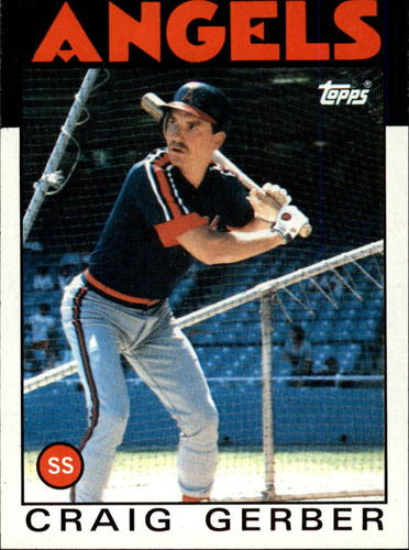 Photo of 1986 Topps #222 Craig Gerber