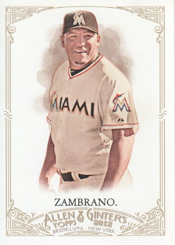 Photo of 2012 Topps Allen and Ginter #30 Carlos Zambrano