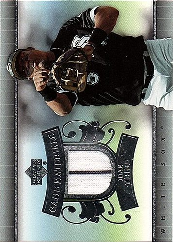 Photo of 2007 Upper Deck UD Game Materials #JU Juan Uribe Jersey