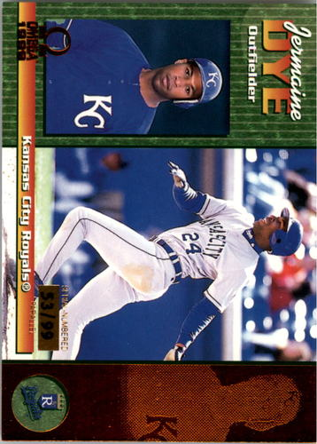 Photo of 1999 Pacific Omega Copper #113 Jermaine Dye