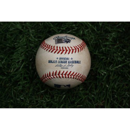Photo of Game-Used Baseball